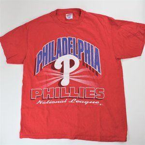 Philadelphia Phillies Vintage 94 Shirt Large Hanes